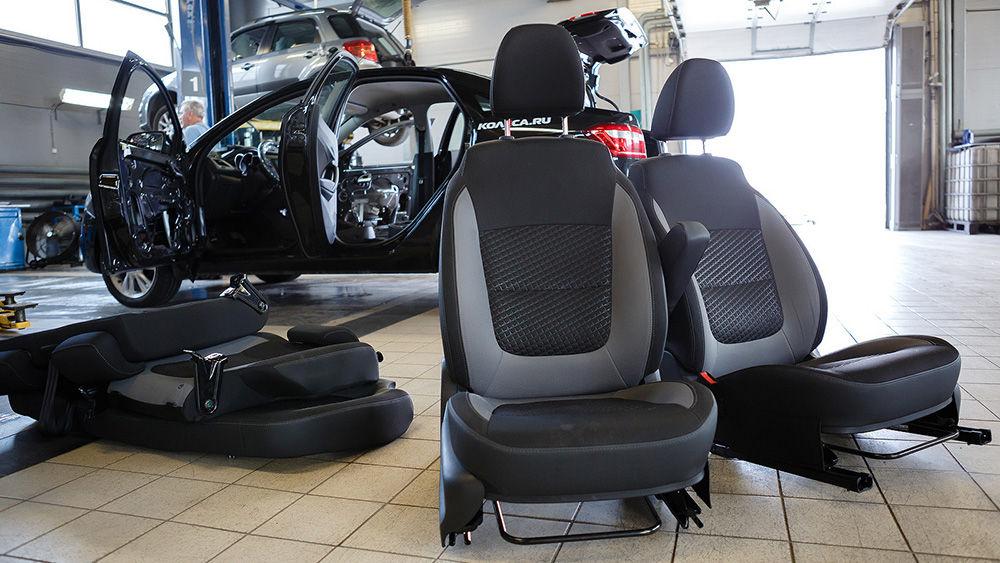 Как снять заднее сиденье