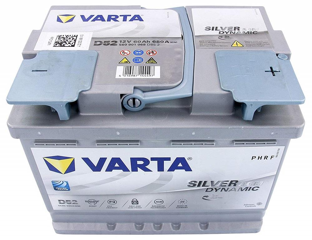 Varta DS2 Silver Dynamic AGM