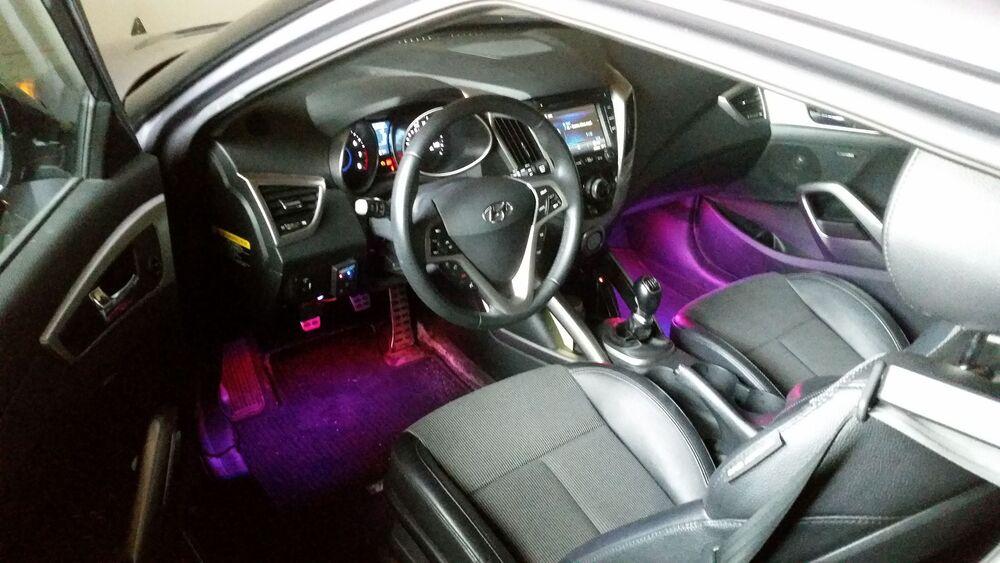 Подсветка в салоне авто