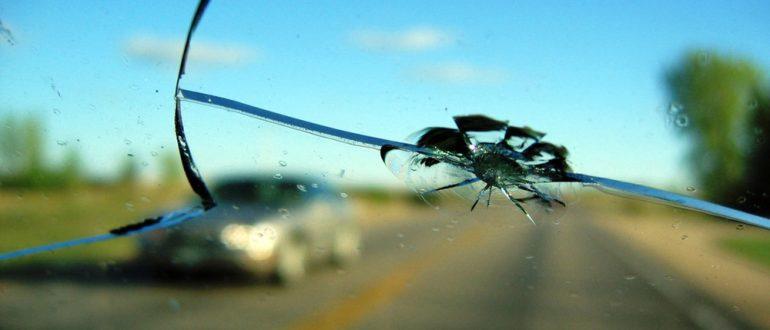 Трещина на стекле