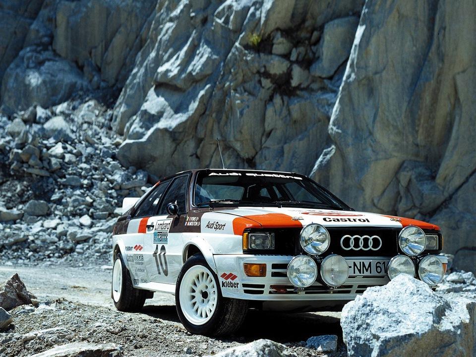 Audi Quattro 1980–1991
