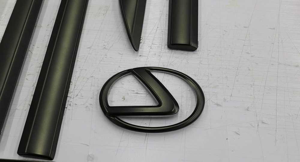 Эмблема авто без покрытия