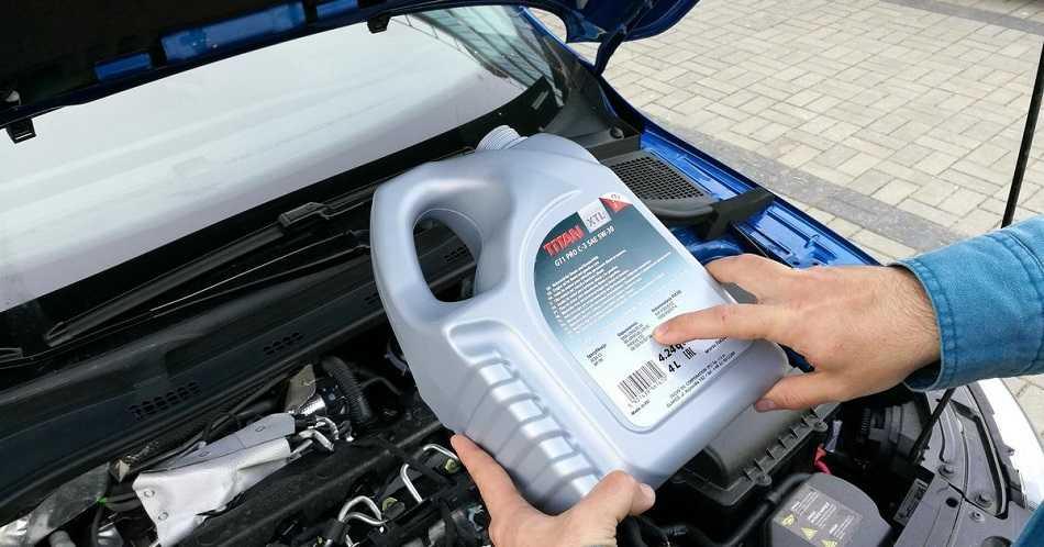 Проверка состава и срока годности моторного масла