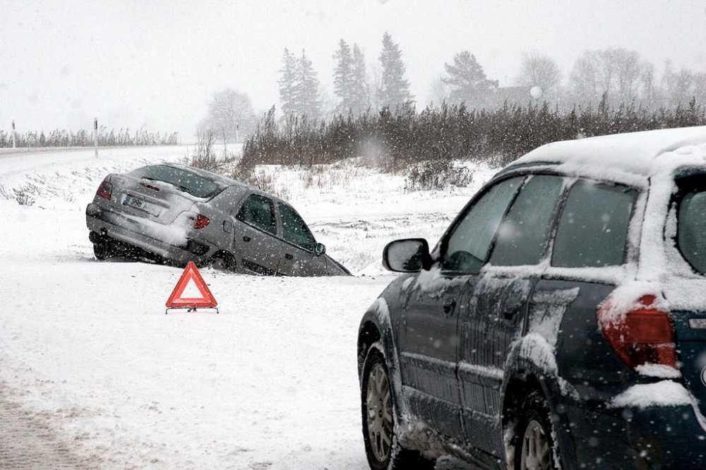 Аварийная ситуация зимой
