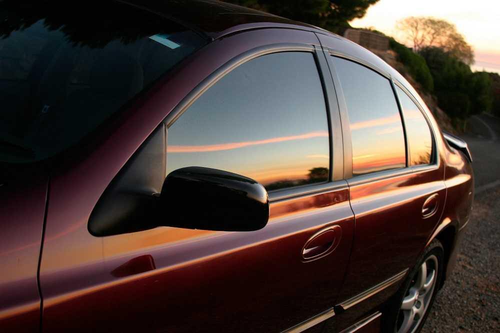 Силиконовая тонировка стекол авто