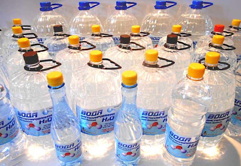 Дистиллированная вода для автомобильных аккумуляторов