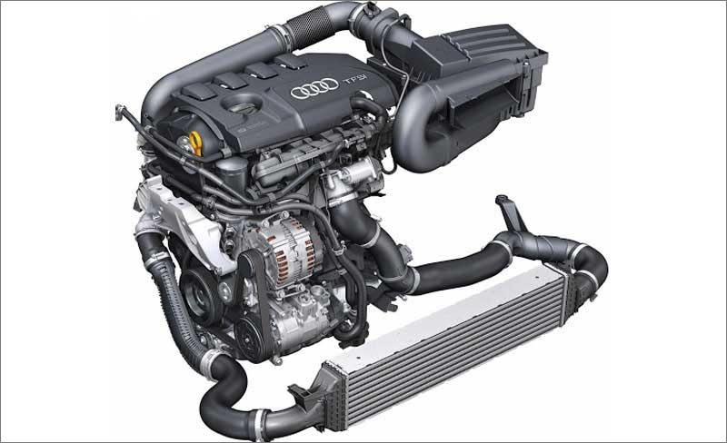 Двигатель TFSI с турбонагнетателем