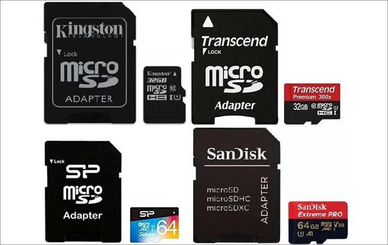 MicroSD карты памяти для видеорегистраторов