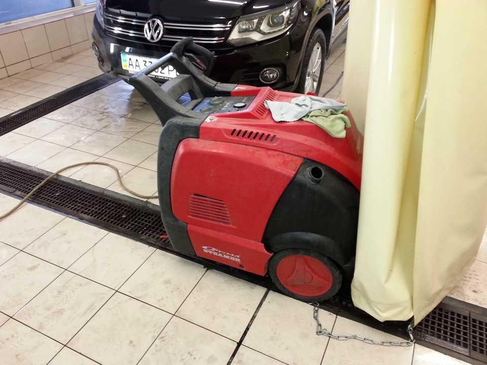Парогенератор для очистки автомобиля