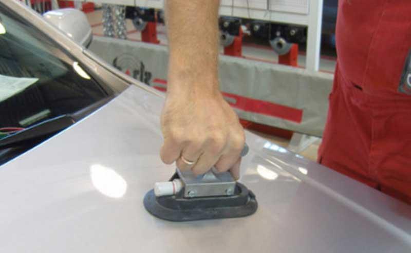 Рихтовка кузова автомобиля магнитом
