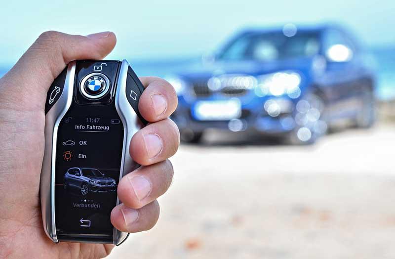 Смарт-ключ автомобиля