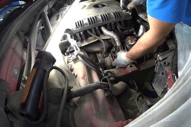 Техобслуживание двигателя TFSI