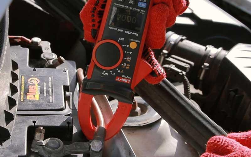 Токоизмерительные клещи для аккумулятора автомобиля