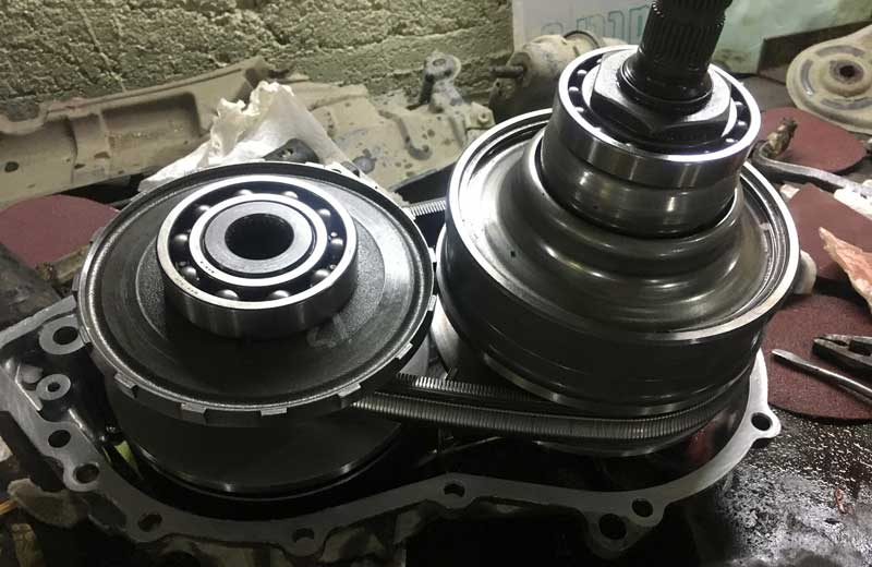 Замена ремня привода вариатора автомобиля
