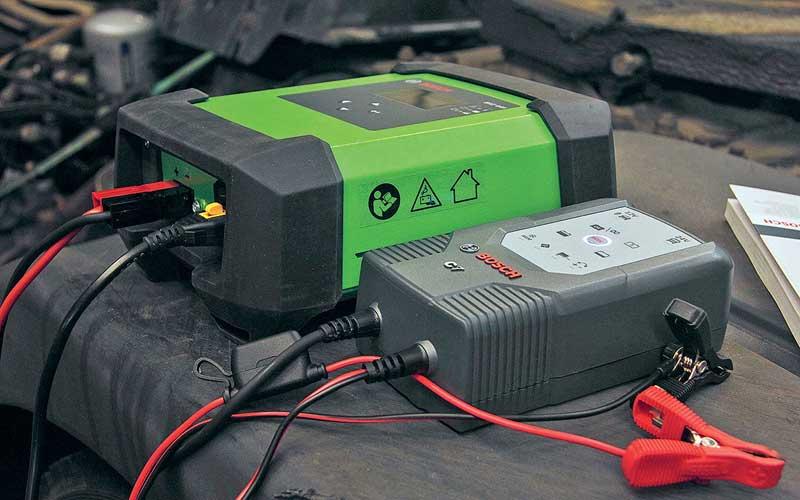 Зарядная станция для аккумуляторов автомобилей