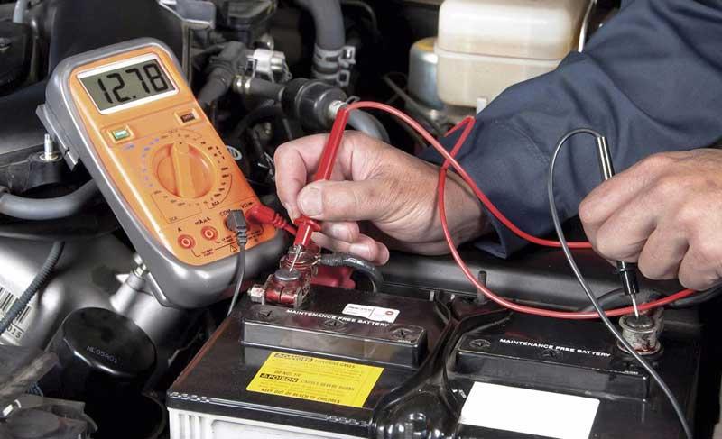 Зарядка автомобильного аккумулятора