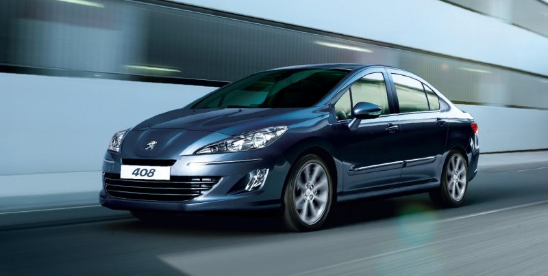 Автомобиль Peugeot 408