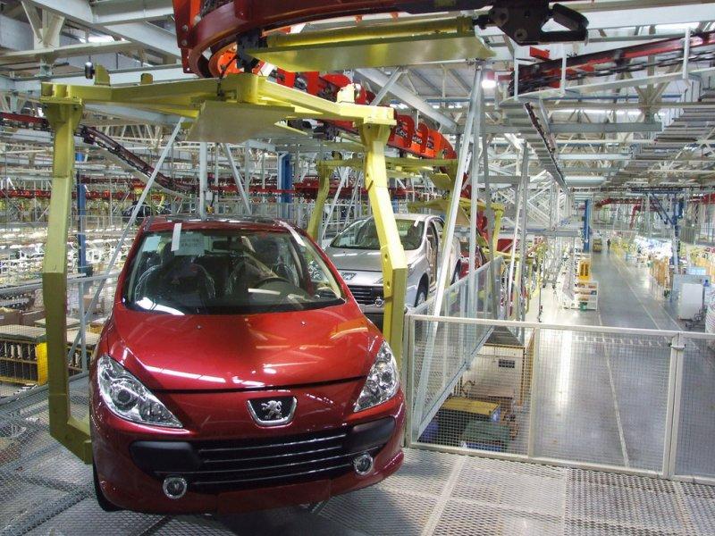 Завод по производству Peugeot