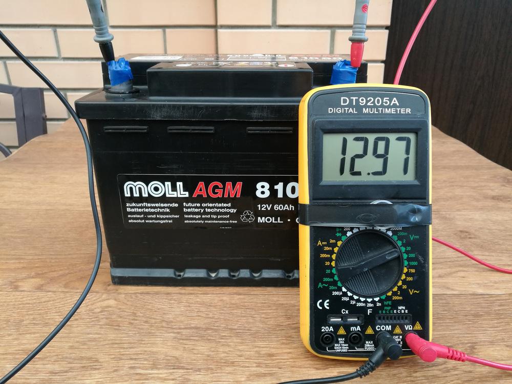 Устройство AGM аккумуляторов