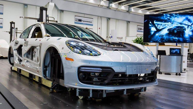 Завод по производству Porsche