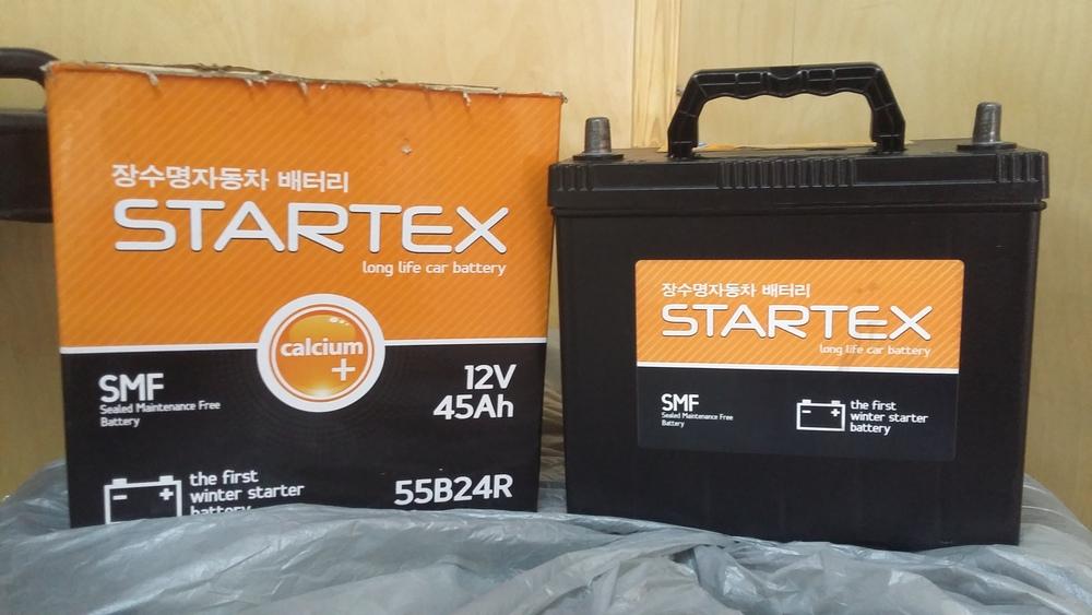 Аккумулятор авто Startex