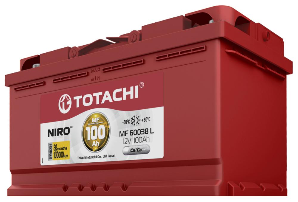 Аккумулятор авто Totachi