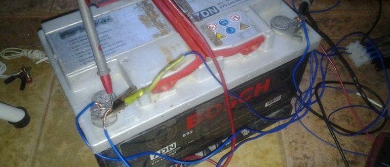 Десульфатация автомобильного аккумулятора