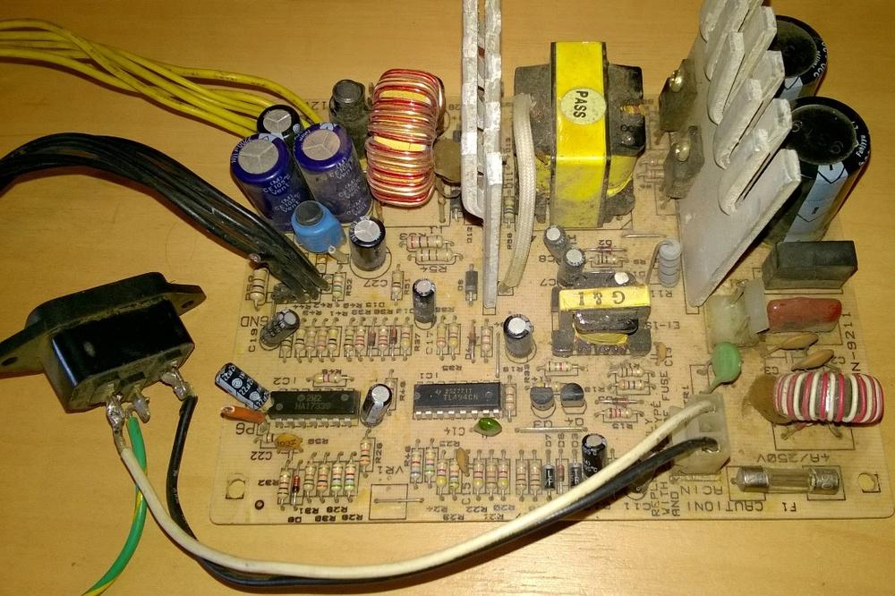 Переделка блока питания для ПК в зарядное устройство