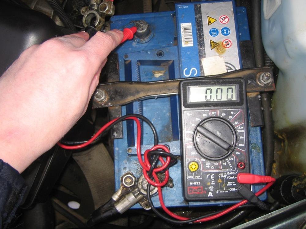 Проверка утечки тока в автомобиле