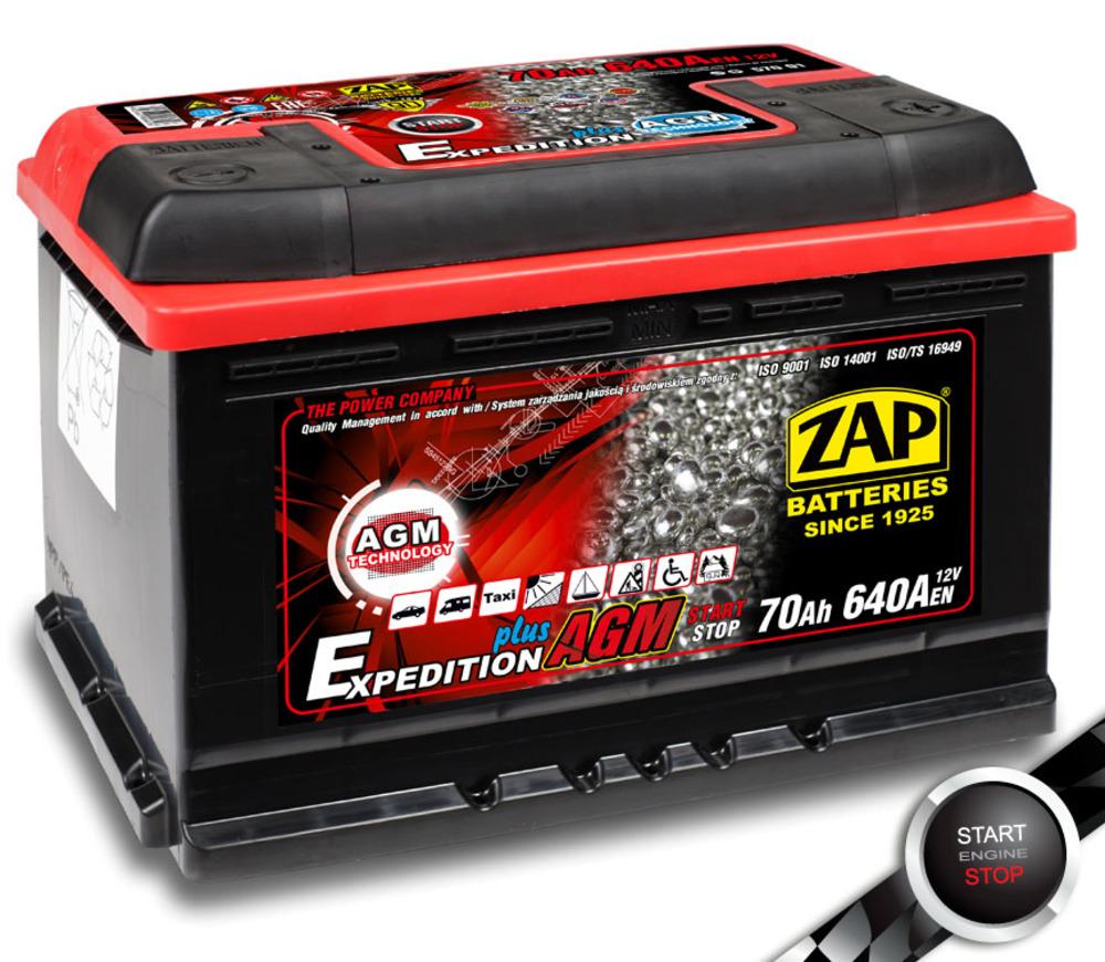 Аккумулятор AGM ZAP
