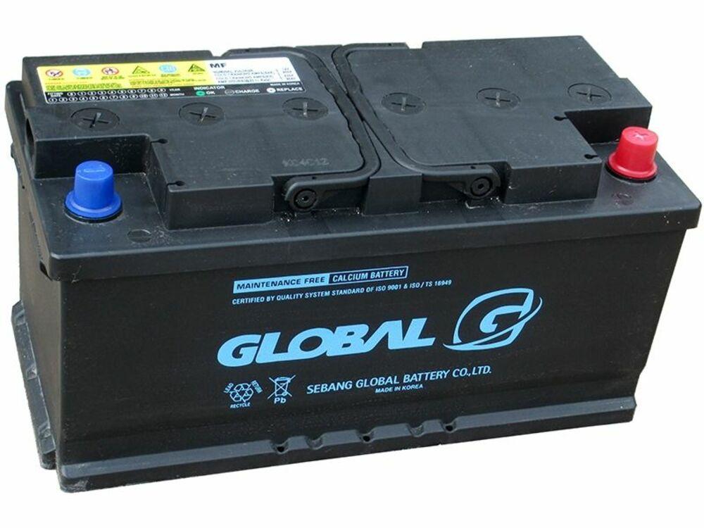 Автомобильный аккумулятор Global