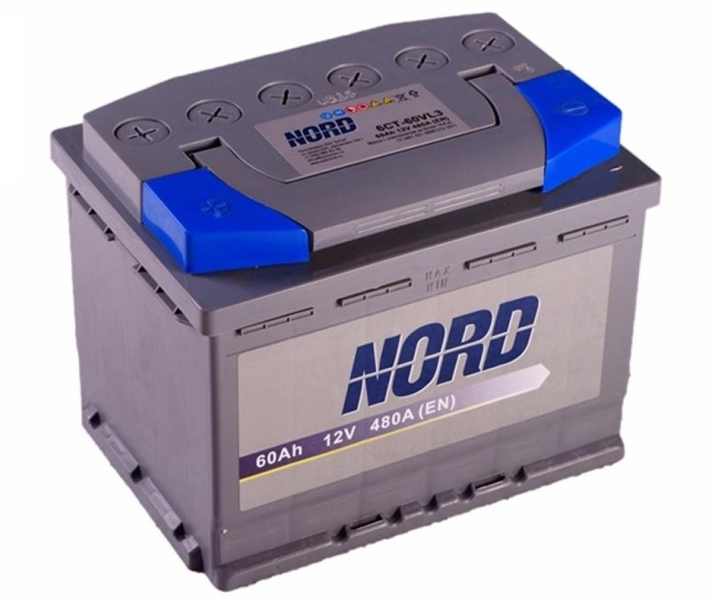 Автомобильный аккумулятор Nord
