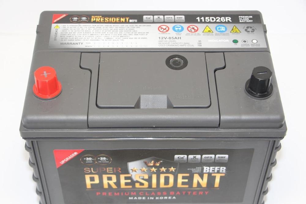 Автомобильный аккумулятор President