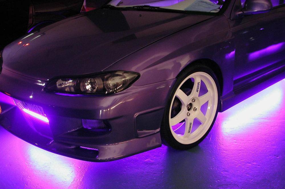 Подсветка дна автомобиля