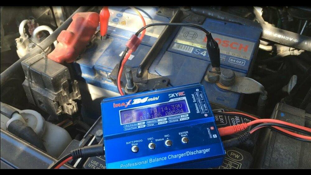 Предварительный заряд аккумулятора