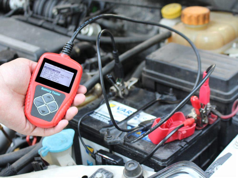 Проверка ёмкости аккумулятора авто