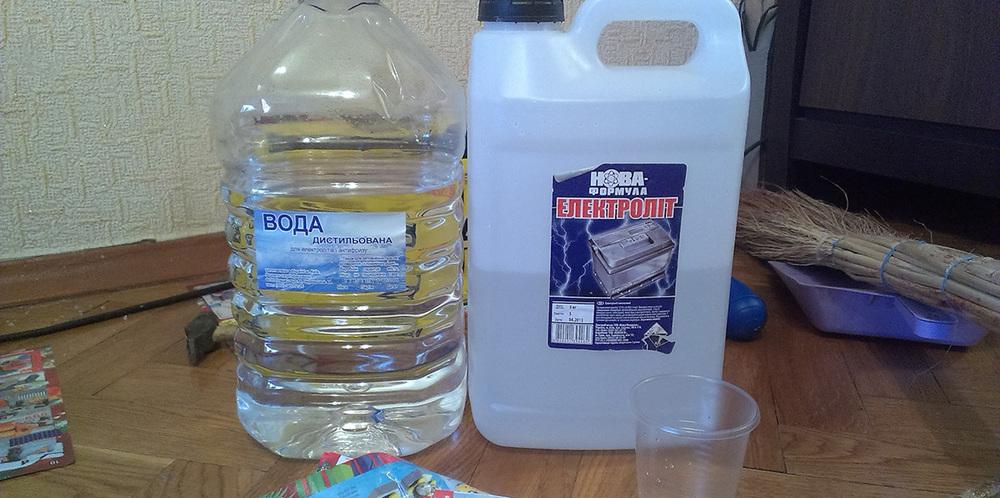 Вода и электролит