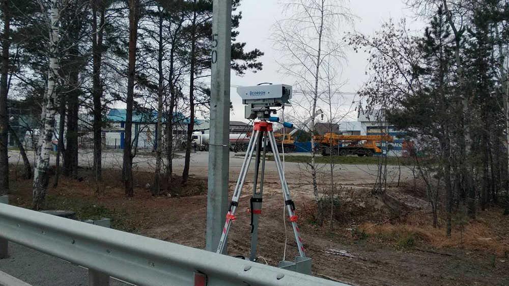 Камера без предупредительного знака
