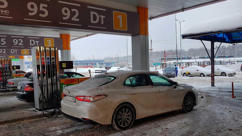 Варианты бензина на заправке
