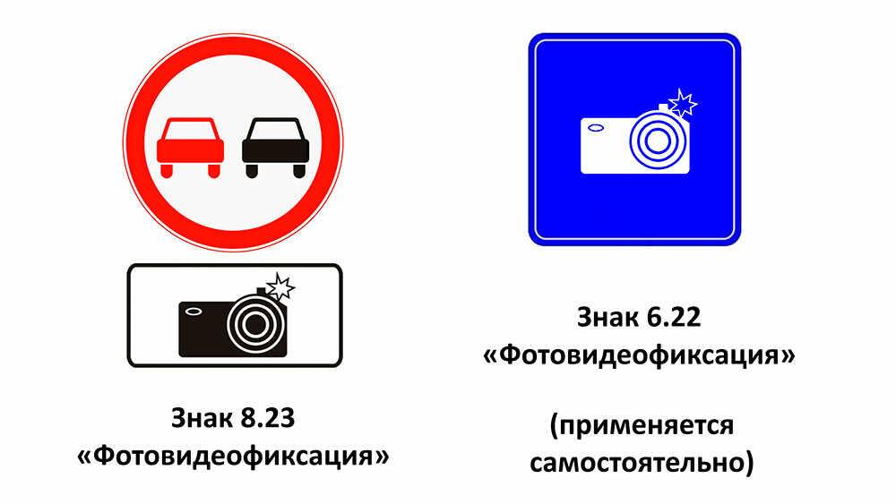 Отличия между знаками