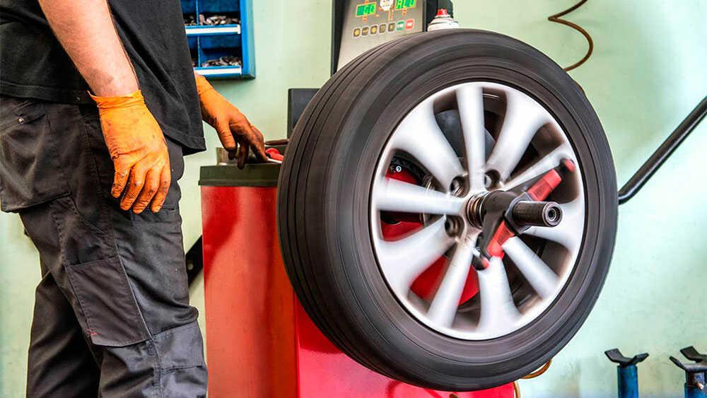 Регулирование баланса колес