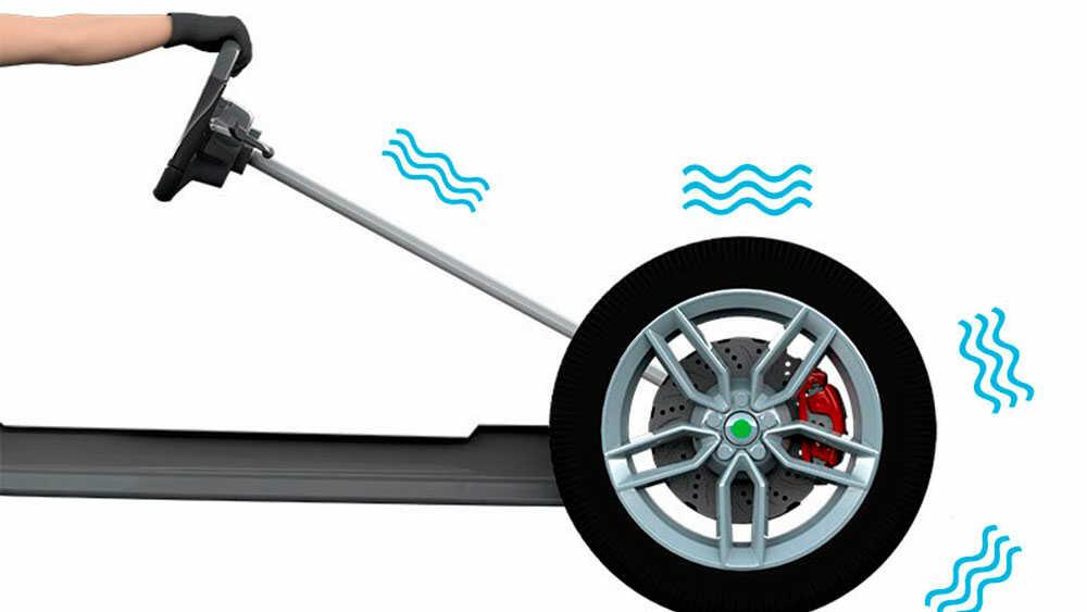 Признаки дисбаланса колес