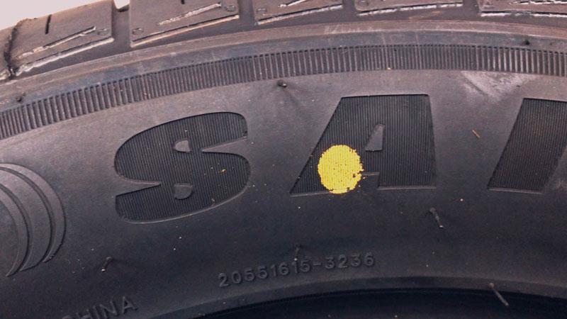 Что означают желтые точки