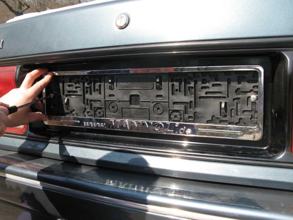 Специальная рамка для номера машины