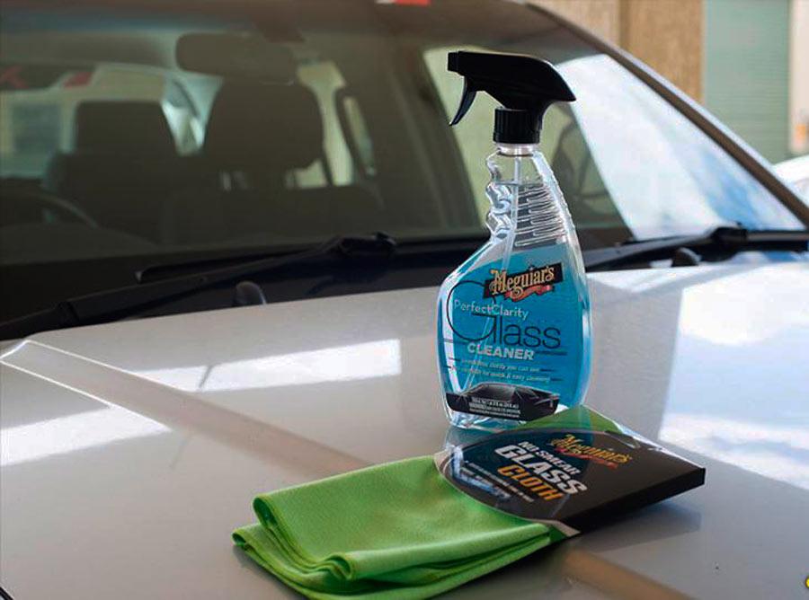 Химические средства для мытья лобового стекла