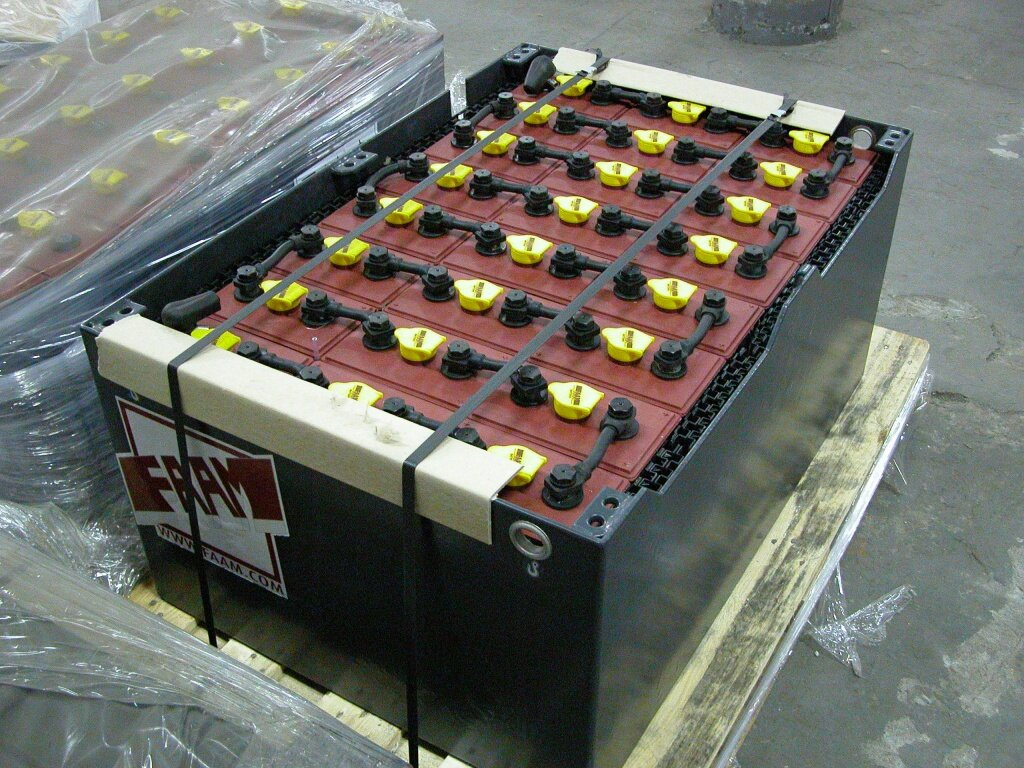 Производительный тяговый аккумулятор